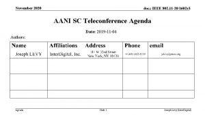 November 2020 doc IEEE 802 11 201602 r
