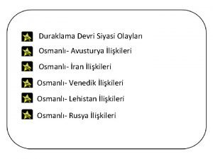 Duraklama Devri Siyasi Olaylar Osmanl Avusturya likileri Osmanl