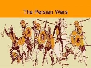 The Persian Wars In 492 B C Darius