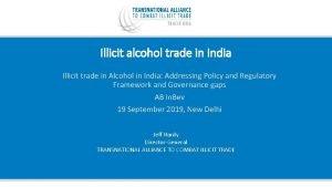 Illicit alcohol trade in India Illicit trade in