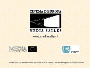 www mediasalles it MEDIA Salles is an initiative