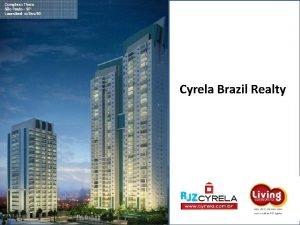 Cyrela Brazil Realty A Cyrela Brazil Realty A