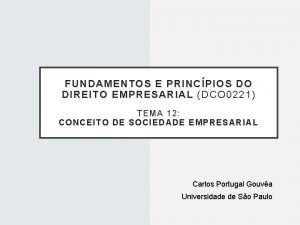 FUNDAMENTOS E PRINCPIOS DO DIREITO EMPRESARIAL DCO 0221