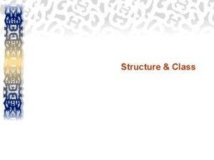 Structure Class Structure struct struct employee joon struct