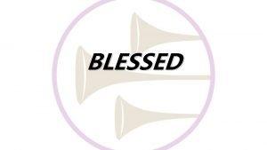 BLESSED 1 GOD WIL KAN ONS SEN IN