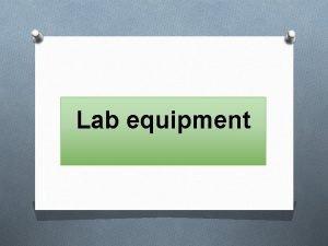 Lab equipment Laboratory Glass Wares O Laboratory glassware
