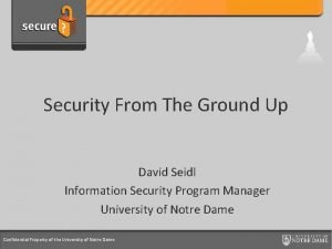 Credit Card Support Program Security From The Ground