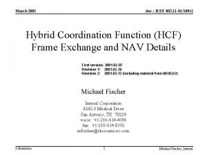 March 2001 doc IEEE 802 11 01109 r
