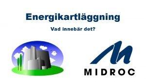 Energikartlggning Vad innebr det Syftet med en Energikartlggning