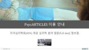 American Psychological Association American Psychological Association APA Educational