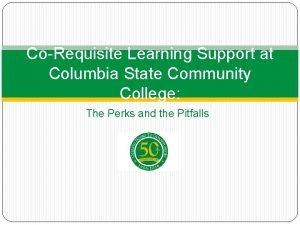 CoRequisite Learning Support at Columbia State Community College