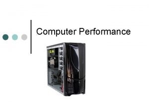 Computer Performance Boot Process Booting Sequence of events