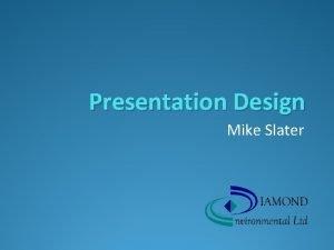 Presentation Design Mike Slater Training Conferences Sales Meetings