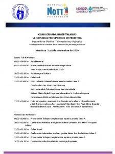 XXVIII JORNADAS HOSPITALARIAS VI JORNADAS PROVINCIALES DE PEDIATRIA