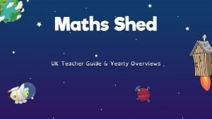 UK Teacher Guide Yearly Overviews Maths Sheds Mastery