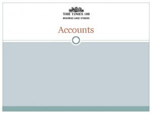 Accounts Key Accounting Documents Public Limited Companies in