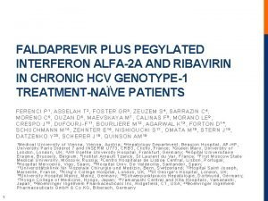 FALDAPREVIR PLUS PEGYLATED INTERFERON ALFA2 A AND RIBAVIRIN