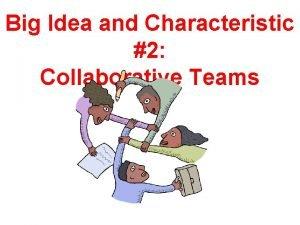 Big Idea and Characteristic 2 Collaborative Teams Collaborative