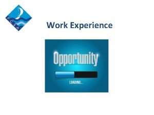 Work Experience 60 Of Jobs are never advertised