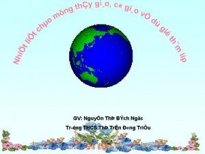GV Nguyn Th Bch Ngc Tr ng THCS