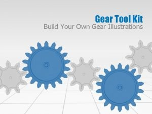 Gear Tool Kit Build Your Own Gear Illustrations