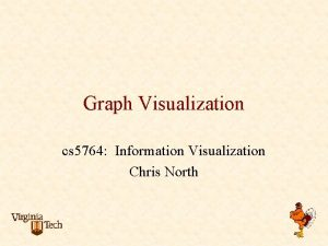 Graph Visualization cs 5764 Information Visualization Chris North