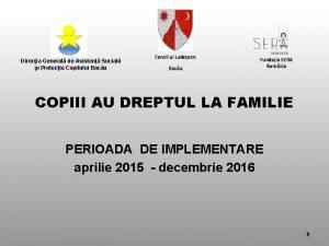 Direcia General de Asisten Social i Protecia Copilului