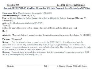 September 2019 doc IEEE 802 15 19 0405