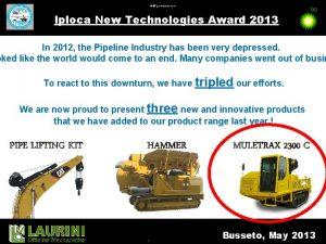 11032021 BP presentation name Iploca New Technologies Award