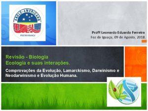 Prof Leonardo Eduardo Ferreira Foz do Iguau 09