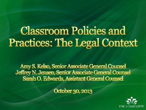 Office of Legal Affairs website under Legal Topics