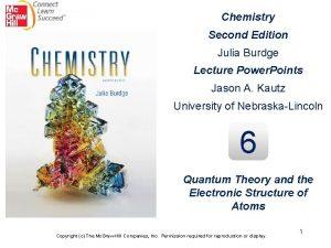 Chemistry Second Edition Julia Burdge Lecture Power Points