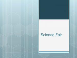 Science Fair Scientific Method Ask a Question Ask