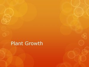 Plant Growth Specialized Cells Guard Cells Guard cells