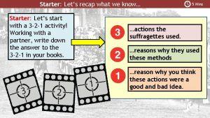 Starter Lets recap what we know Starter Lets