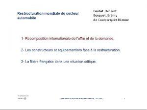 Bardat Thibault Bosquet Jrmy de Coatparquet Etienne Bardat