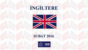 NGLTERE UBAT 2016 CORAF KONUM Kta Avrupa snn