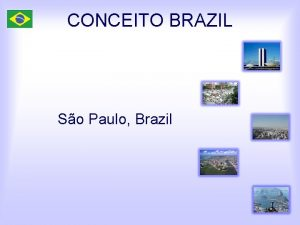 CONCEITO BRAZIL So Paulo Brazil Top Exports from