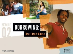 Borrowing Rights TODAY YOU WILL EXPLORE THE RIGHTS