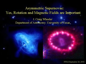 Asymmetric Supernovae Yes Rotation and Magnetic Fields are