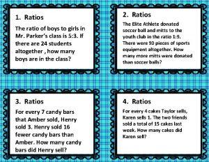1 Ratios 2 Ratios The ratio of boys