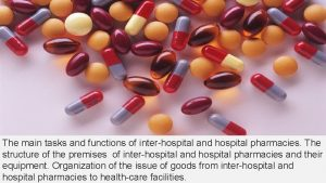 The main tasks and functions of interhospital and
