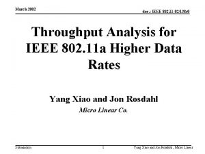 March 2002 doc IEEE 802 11 02138 r