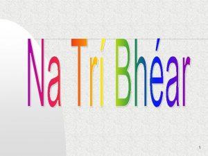 1 Bh teach deas ag na Tr Bhar