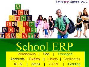 School ERP Software School ERP Admissions Fee Transport