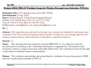 Sept 2004 doc IEEE 802 15 040413 r