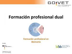 Formacin profesional dual Formacin profesional en Alemania Indice