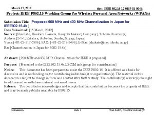 March 15 2012 doc IEEE 802 15 12