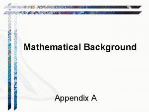 Mathematical Background Appendix A Boolean Logic Wffs A