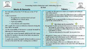 Positivity Respect Determination Promoting Positive Behaviour and Celebrating